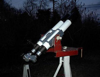 4-inch binoculars