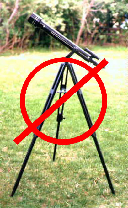 Don't buy this telescope!