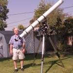 Six inch f/15 refractor