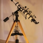 Unitron 3 inch scope with Weight Drive